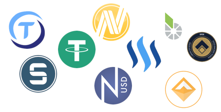 Carl Kruse Tech Blog - Images of stablecoins.